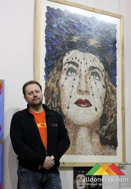 Фото: Олег Зданович отдал для экспонирования свою картину