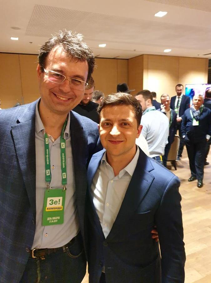 Даниил Гетманцев работает в команде Зе с самого начала и пользуется здесь авторитетом. Фото: zelenskiy.site