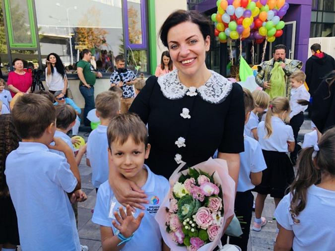 Сын Натальи пока еще адаптируется к новой школе Фото: личный архив