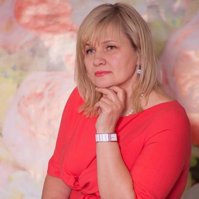 Бывшая жена главы Нацполиции Виктория Князева.