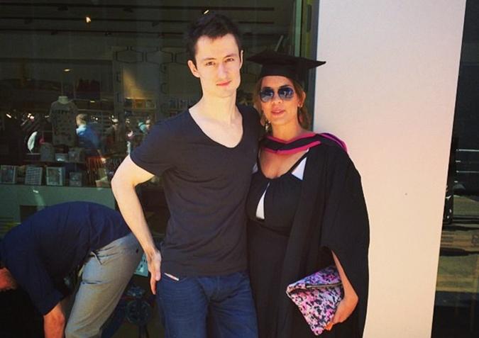 Кирилл Белорусов с Лорелин Гарсии-Берто. Фото: Facebook