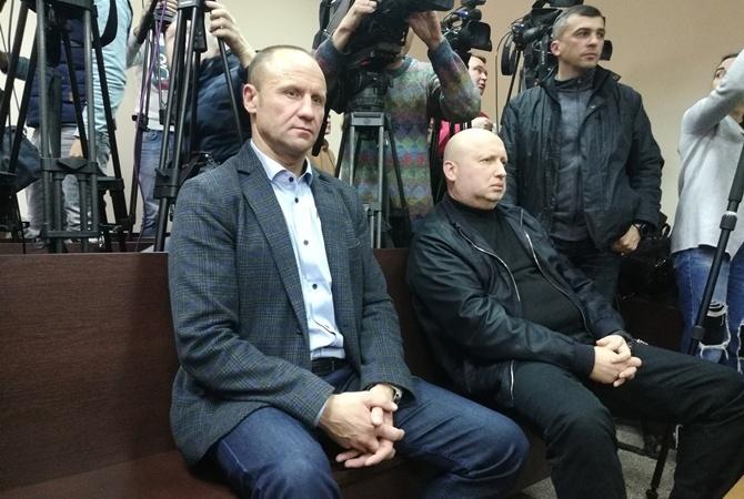 Турчинов пришел на суд по делу Пашинского.