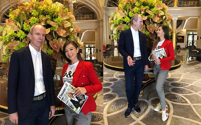 Яхт-шоу в Монако посетила Эльвира Гаврилова, продюсер и бизнес-эксперт (с Богданом Терзи)