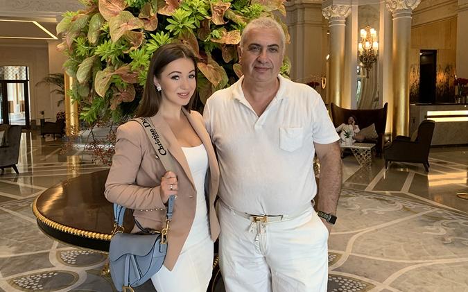 Эльвира Гаврилова и барон Александр Занзер.