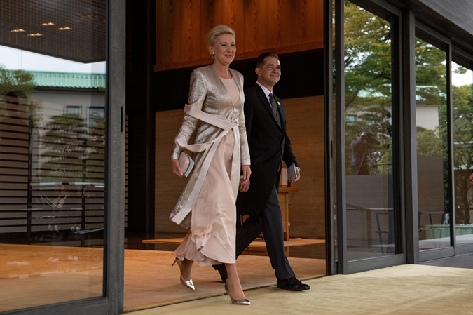 Первая леди Польши Агата Корнхаузер-Дуда. Фото: REUTERS