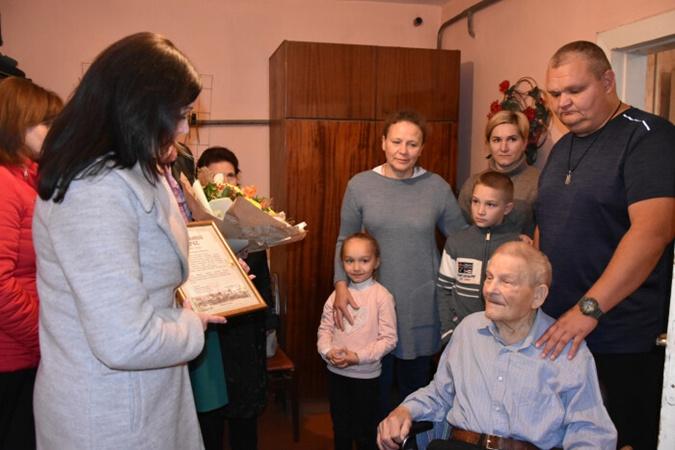 Михаил Алексеевец - инвалийд войны и ветеран труда. Фото: lutskrada.gov.ua