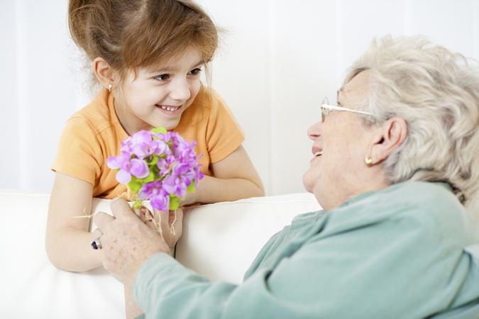 Поздравления с днем рождения бабушке короткие