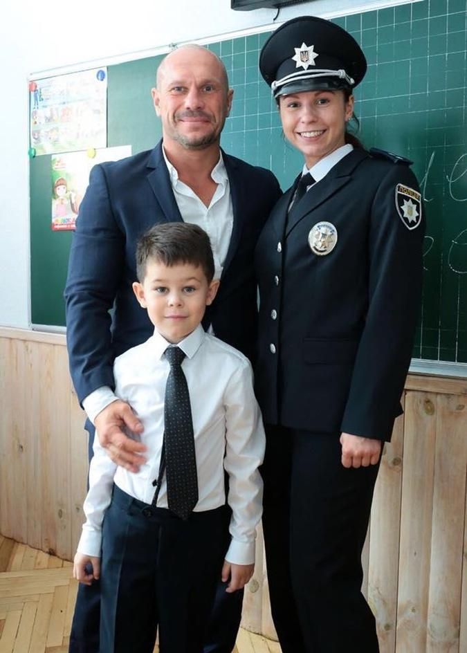 Фото: соцсети. Илья Кива с дочкой Екатериной и сыном Георгием