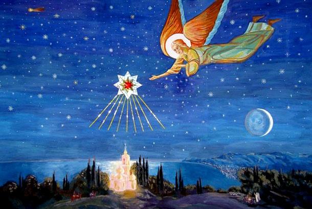 Різдвяні листівки. Фото: webmandry.com.ua