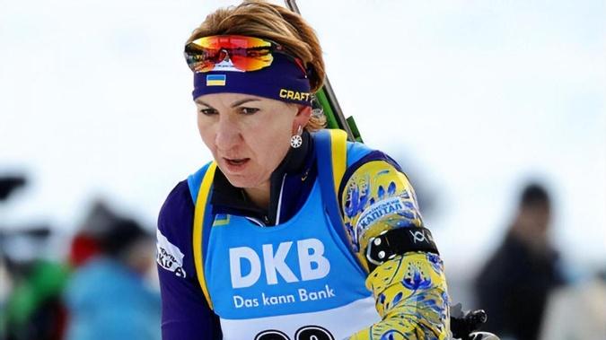Елена Пидгрушная - одна из самых титулованных украинских биатлонисток