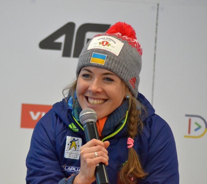 Юлия Джима – самая перспективная биатлонистка с точки зрения сегодняшних результатов