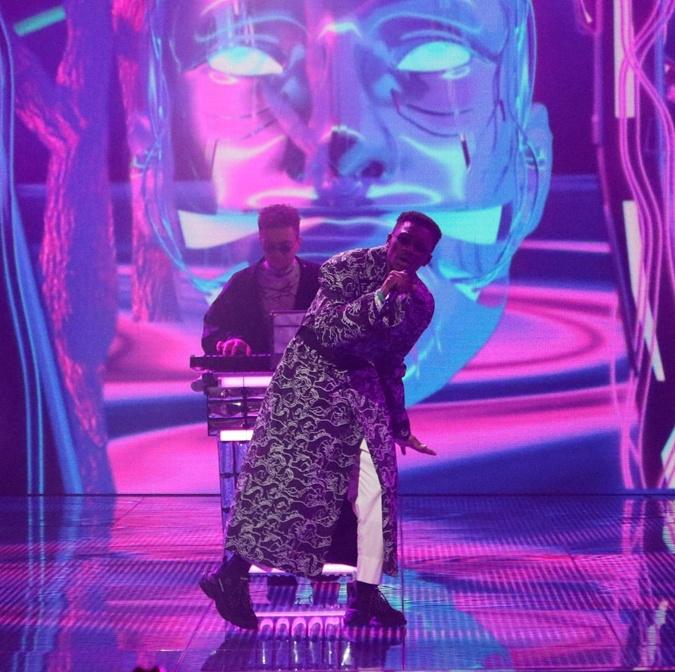 Триумфаторами второго эфира стала группа TVORCHI Фото: instagram.com/eurovision.ua/Denis Didkivskyi