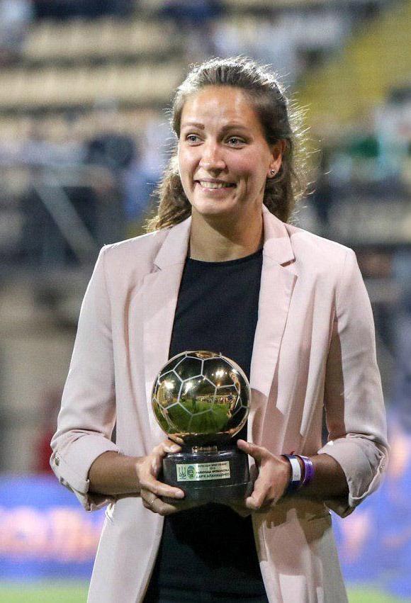 Дарья Апанащенко - семикратная лучшая футболистка Украины