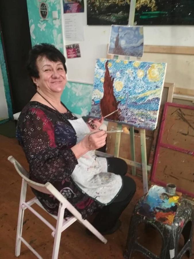 На пенсии Вера Козырева открыла для себя много занятий, на которых раньше не хватало ни времени, ни сил. Фото: личный архив