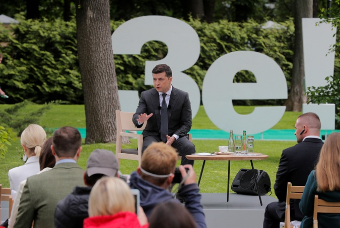 Пресс-конференция Зеленского в цитатах от А до Я