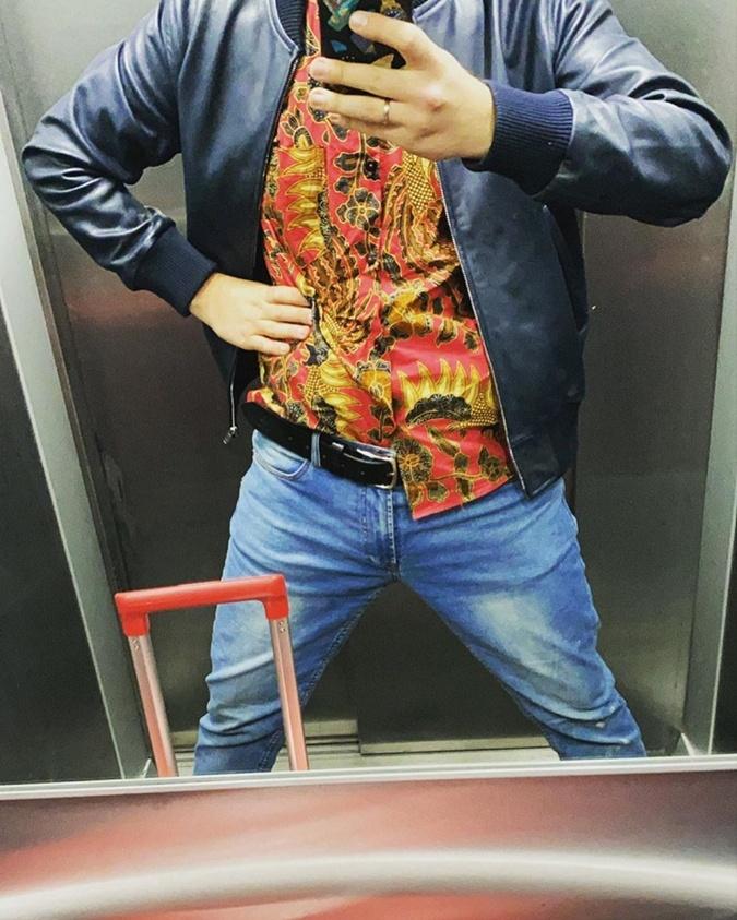 Сергей 00000000000001К выкладывает фото без лица. Фото: Инстаграм
