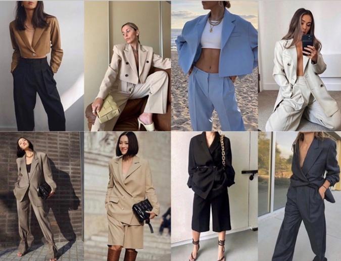 Летом 2020 по-прежнему актуальны oversize-пиджаки