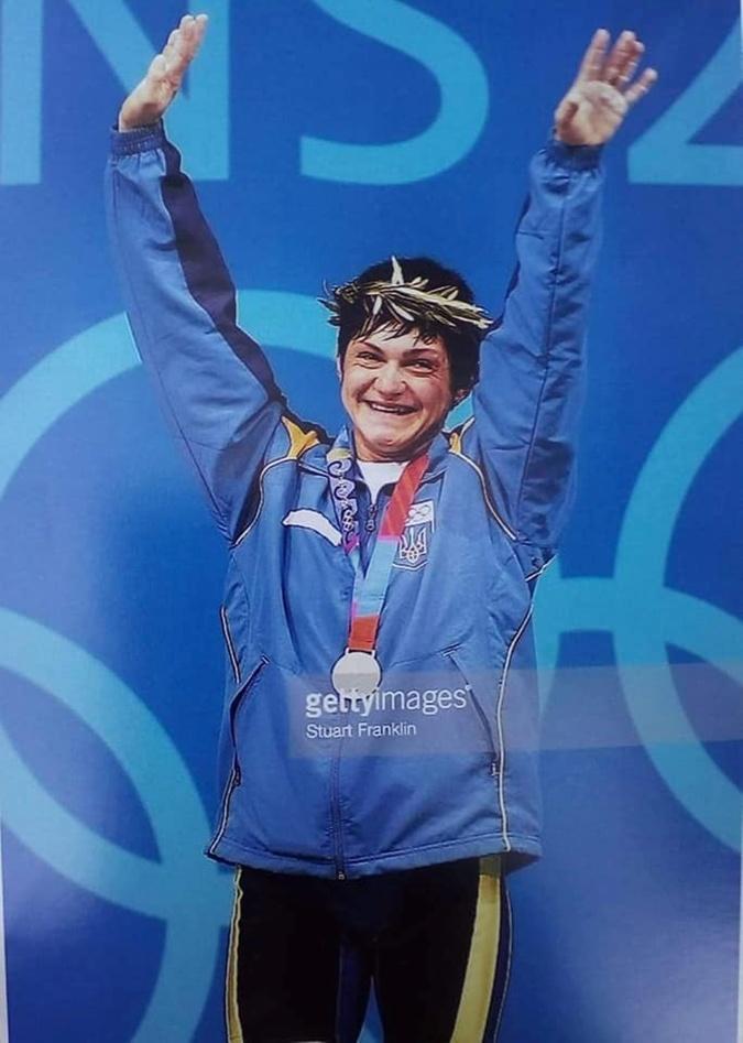 Наталья Скакун единственная чемпионка в тяжелой атлетике за всю историю независимой Украины. Фото: личный архив