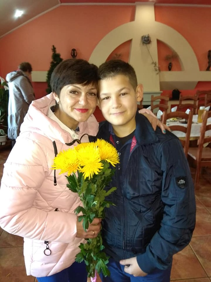 С 14-летним сыном Никитой. Фото: личный архив