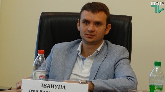 Депутат Николаевского областного совета Игорь Ивануна. Фото: inshe.tv