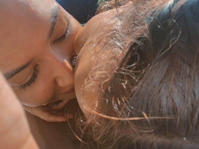 За день до гибели Ная Ривера показала подписчикам последнее фото с сыном, которое трогательно подписала: