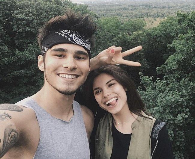 Никита и Мишель остались друзьями. Фото: Инстаграм