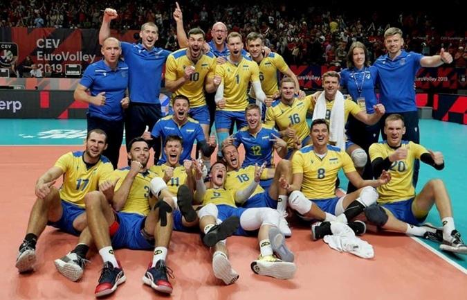 На прошедшем Евро-2019 наша команда стала главным открытием турнира. Фото : личный архив Юрия СЕМЕНЮКА