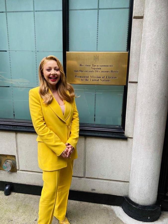 Тина Кароль в Нью-Йорке с рабочим визитом Фото: instagram.com/tina_karol