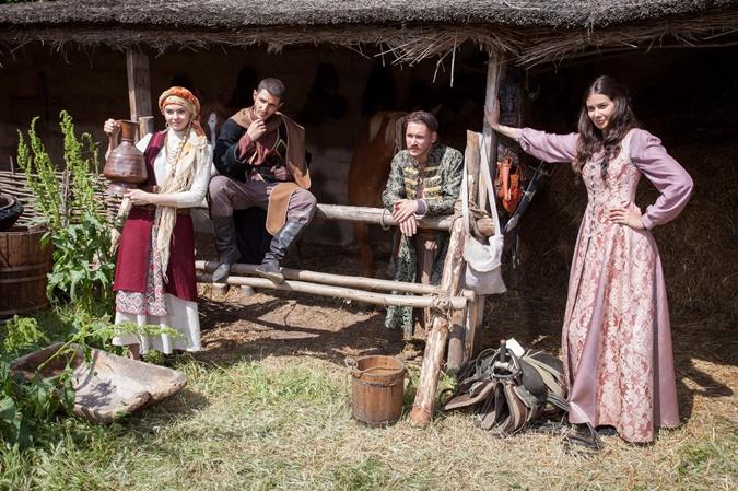Четверо главных героев – Андрей, Фатима, Йорам и Катя. Фото: Страница фильма в Фейсбук