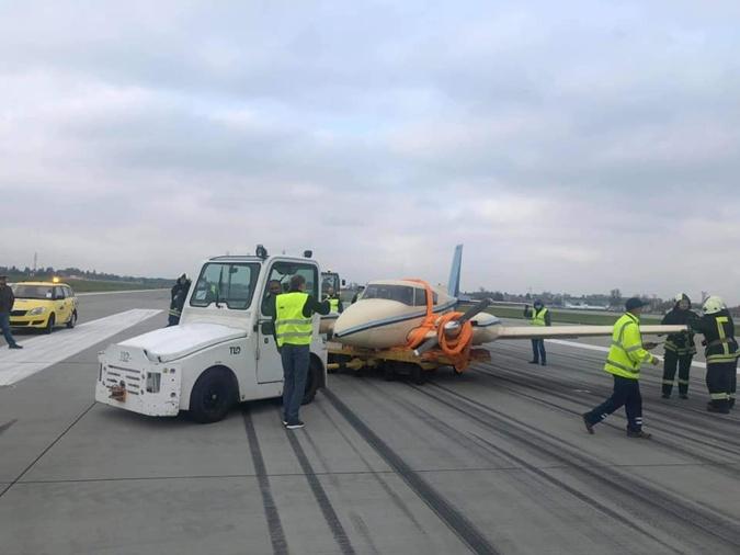 ЧП в аэропорту Львова