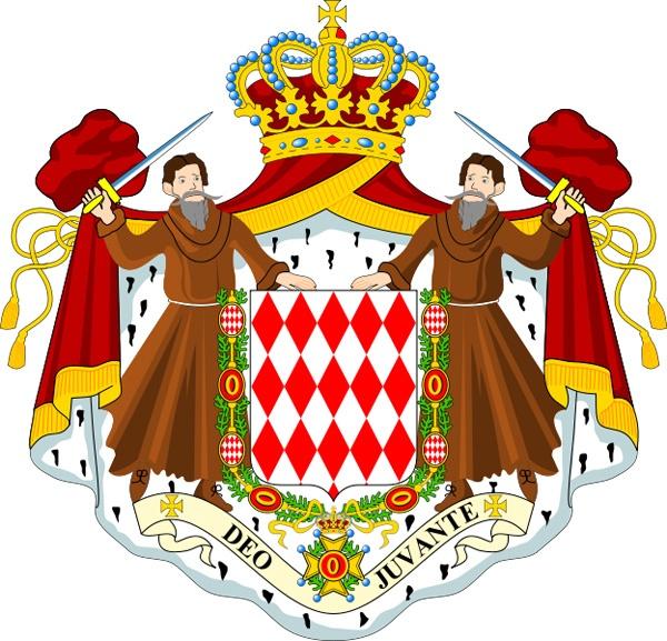 Герб Монако. Фото: из открытых источников