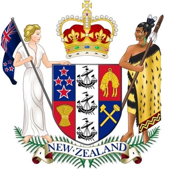 Герб Новой Зеландии. Фото: из открытых источников