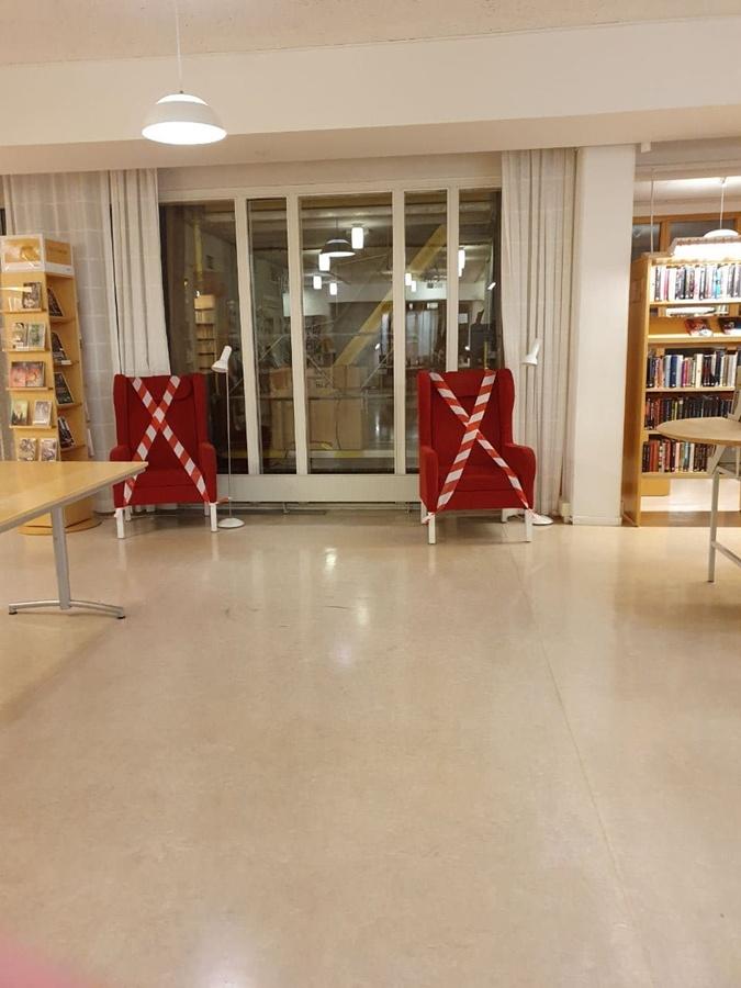 Публичные библиотеки открыты. Но пока отменили встречи и конференции.