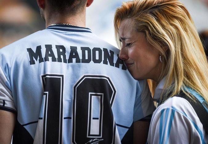 футболка Марадона
