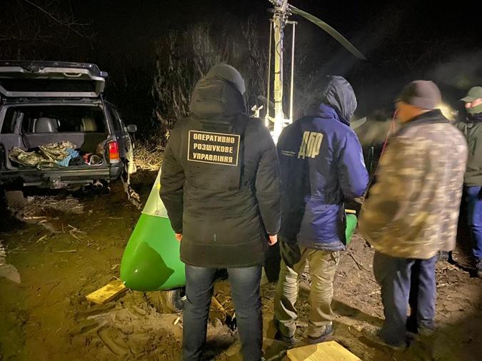 Вывезти контрабанду за границу должны были по воздуху. Фото: dpsu.gov.ua