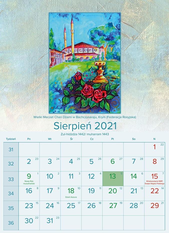 В Польше объединение мусульман выпустило календарь с