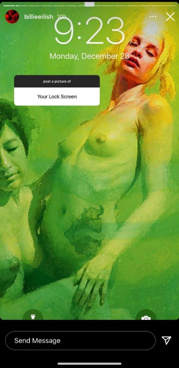 Билли Айлиш ответила фанатам, которые отписались от нее из-за эротических рисунков фото 2