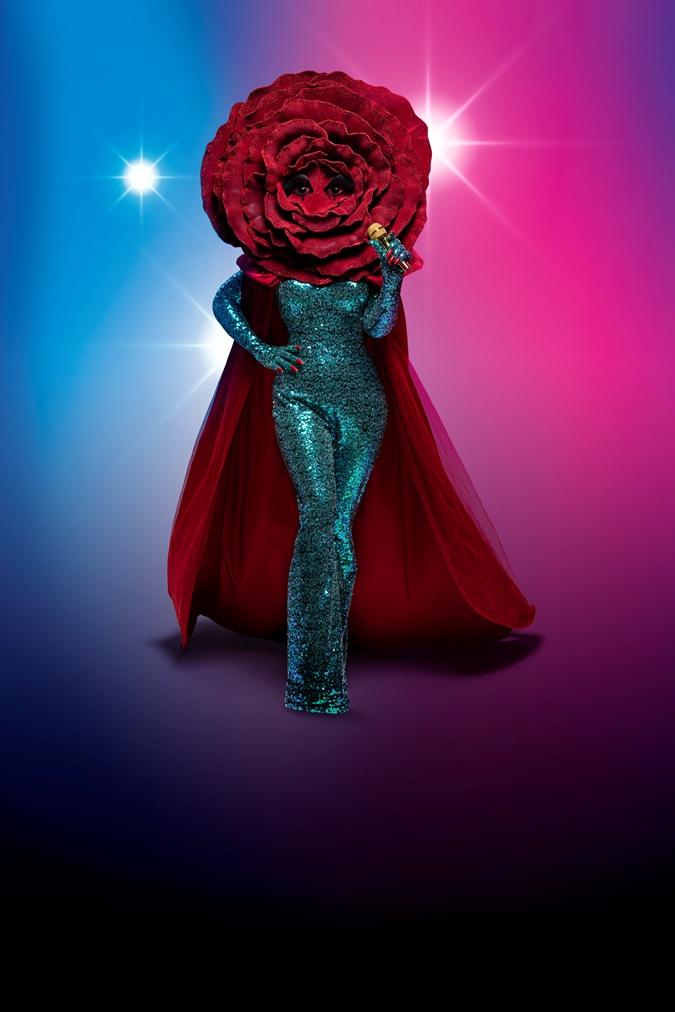 Роза шоу Маска