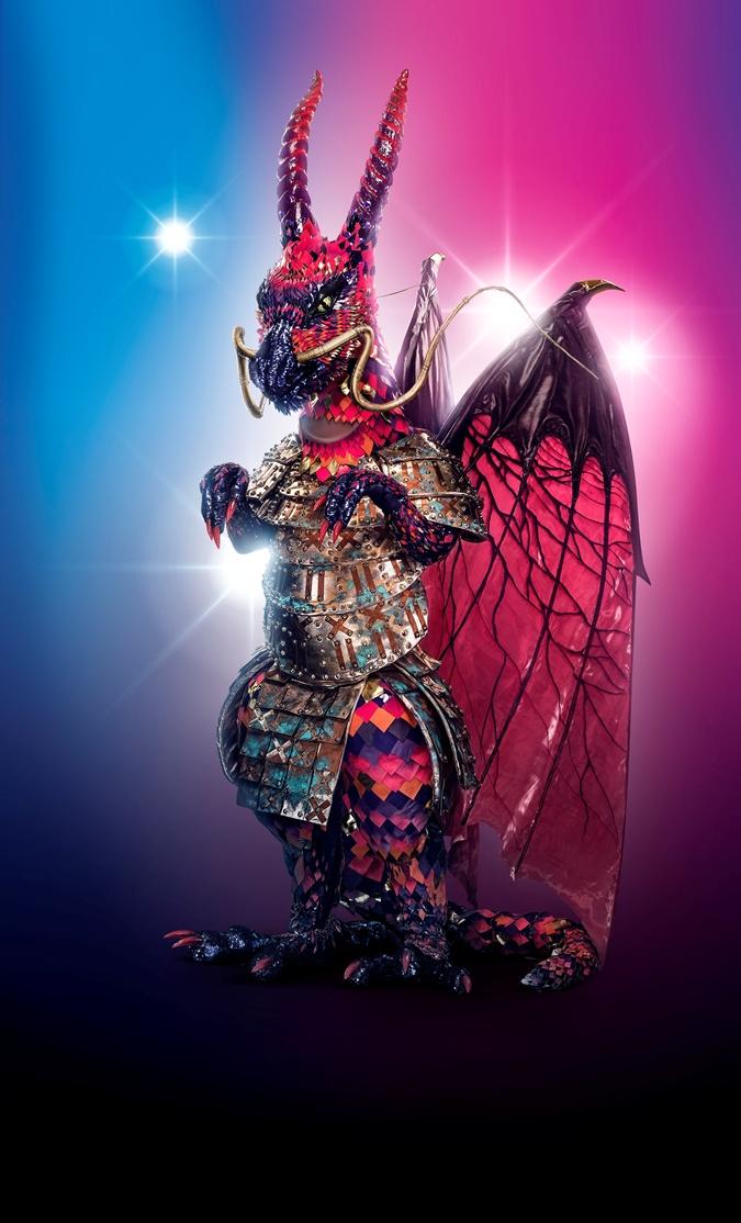 дракон шоу маска