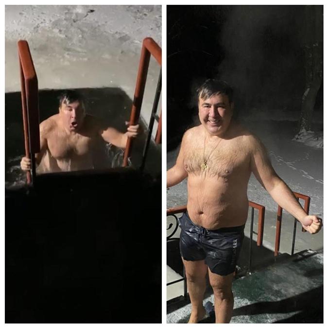 Крещение 2021: Кто из украинских политиков искупался в проруби в 17-ти градусный мороз фото 4