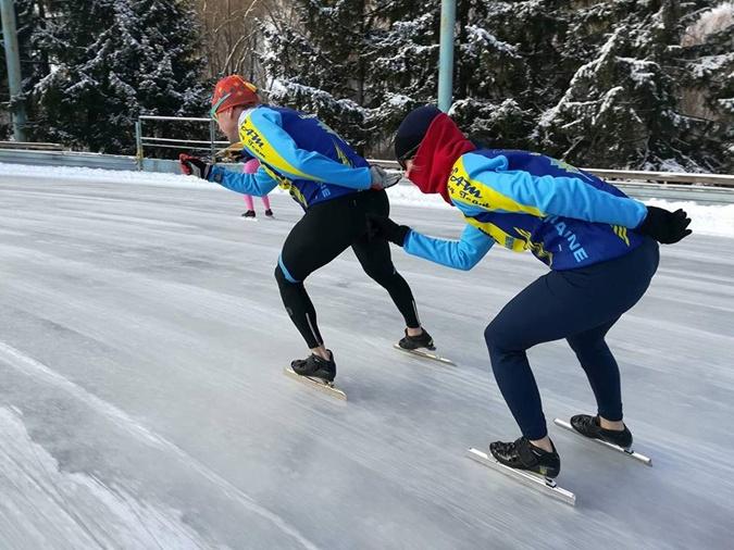 Последняя конькобежка Украины Анна Музыка: В нашей стране этого вида спорта больше нет [фото]