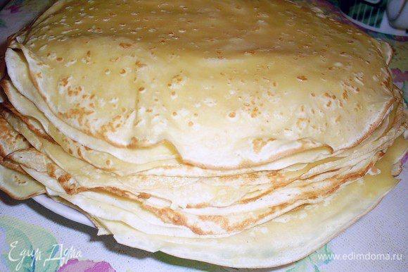 Блинчики - основное блюдо на Масленицу