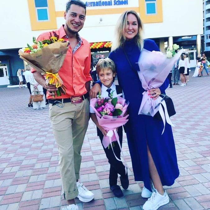 Евгений, Елена и Алексей Синельниковы
