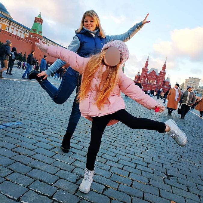 Мила с мамой в Москве. фото: ФБ