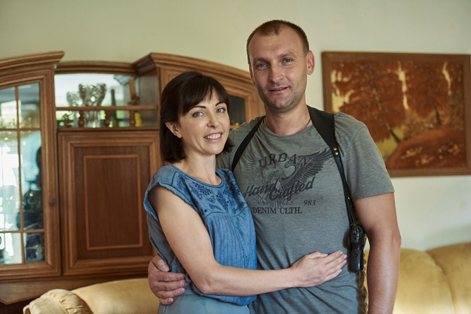 Сергей Листунов с женой