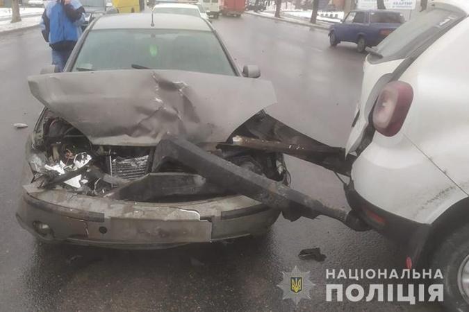 ДТП, Тернополь, авто с вакцинами
