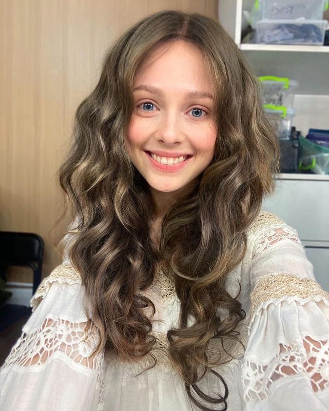 Российская актриса Соня Присс