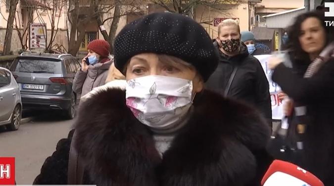 пострадавшая Людмила