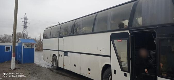 блокпост петропавловка автобус