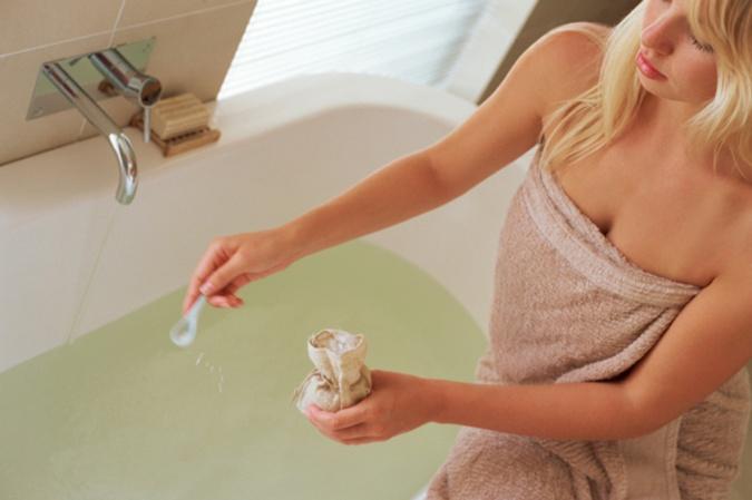 горячая ванна поможет расслабиться